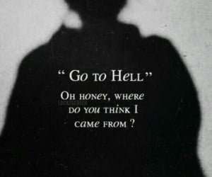 Devil, hell, and quotes image