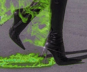 fire, aesthetic, and shoes image