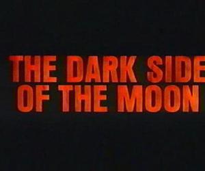 moon, Pink Floyd, and dark image