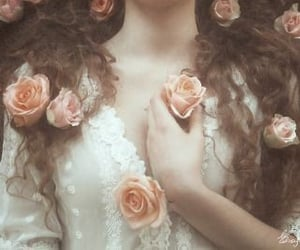 art, rose, and tumblr image