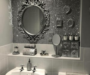 bathroom and girly image