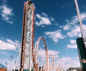 80s, amusement park, and carnival image