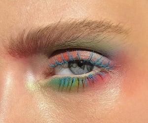 art and eye makeup image