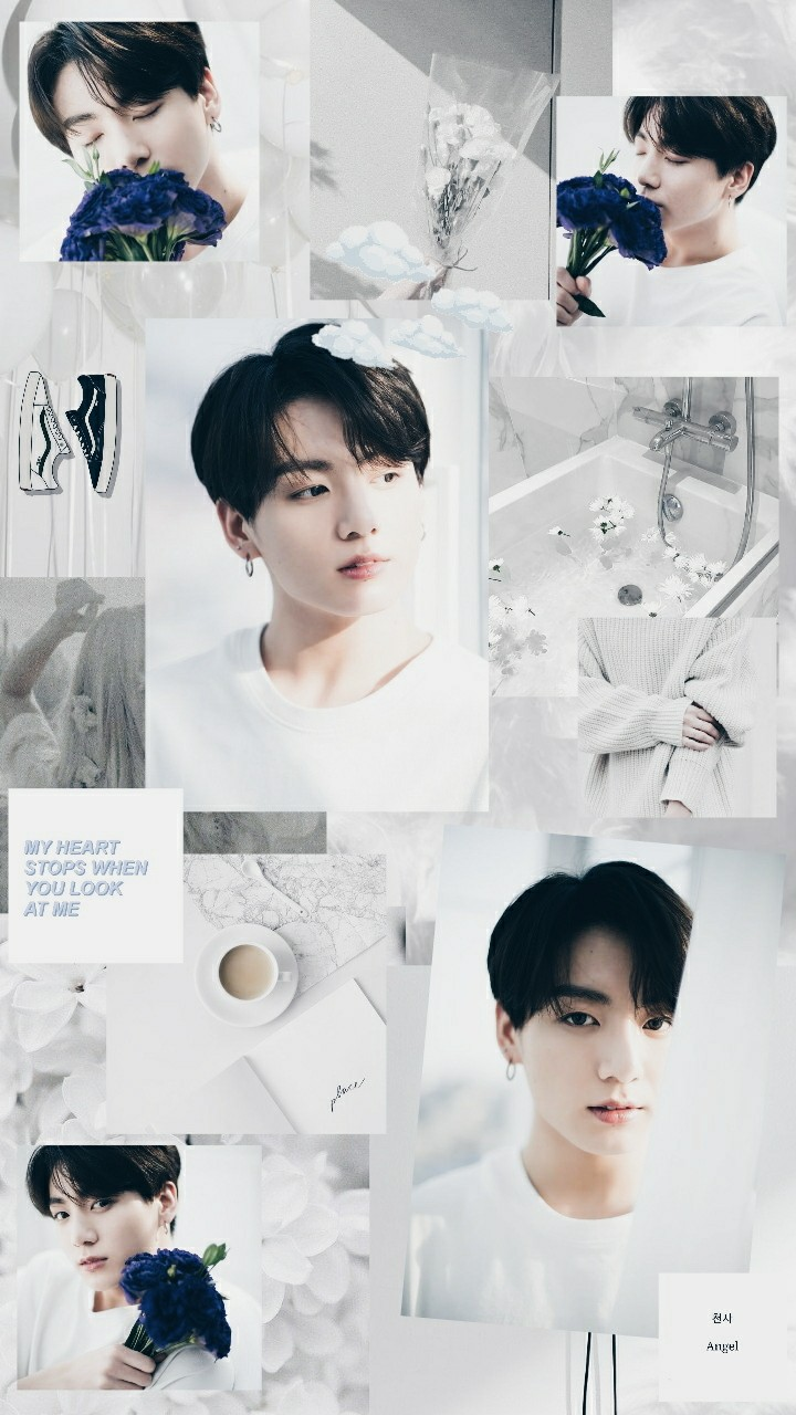 Wallpaper Collage Jungkook By Fiagus15 On We Heart It