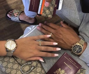 goals, gold rings, and holiday vacation image