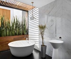 architecture, bathroom, and deco image