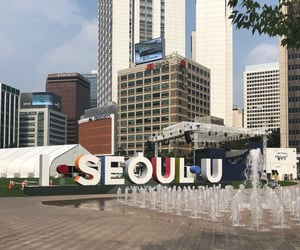 city, aesthetic, and korean image