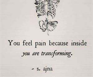 quotes, pain, and life image