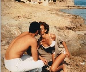 beach, fashion, and vintage retro image