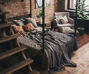 bedroom, house, and cozy image