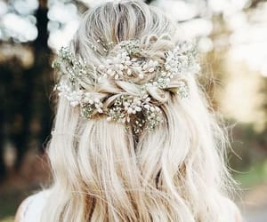 wedding and hairstyle image