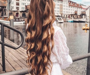 girly, hairstyle, and style image