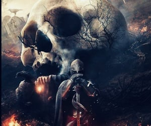 art, dark, and awesome image