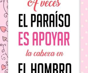 amor, paraiso, and pareja image