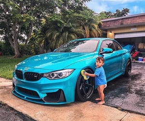 blue, bmw, and cars image