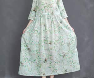 etsy, gown, and green dress image