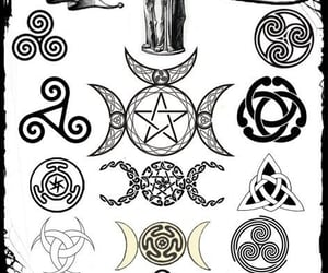 triple goddess and wicca image