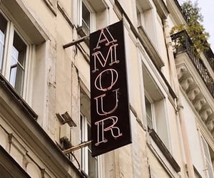 amour, art, and cafe image