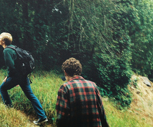 boys and nature image