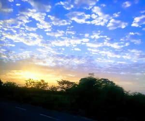 arboles, cielo, and clouds image