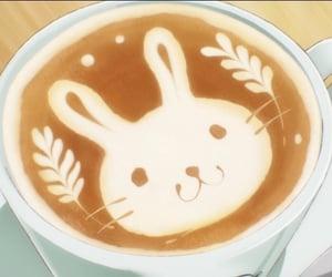 anime, coffee, and anime food image