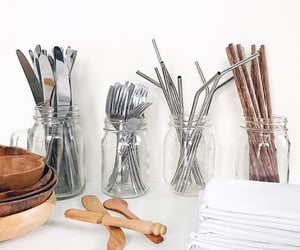 cutlery, eco-friendly, and lifestyle image