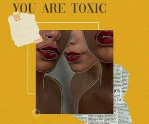 yellow, wallpaper, and toxic image
