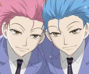 anime, boys, and ouran host club image
