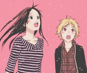 noragami, yukine, and manga image