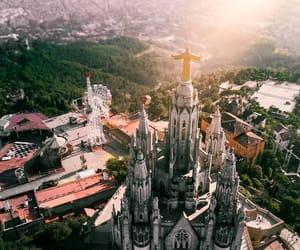 architecture, city, and Sagrada Familia image