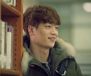 cheese in the trap, seo kang joon, and baek in ho image
