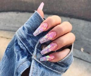 beauty, nails, and nailart image