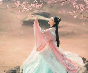 blue, china, and pink image