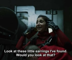 funny, quotes, and money heist image