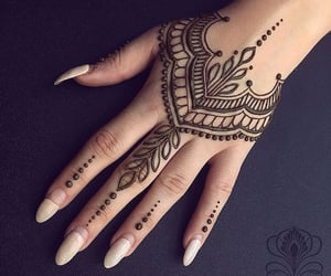 brown and henna image