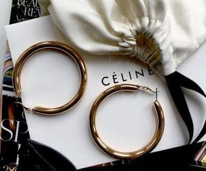 celine, accessories, and earrings image