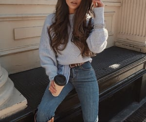 outfit, chic, and clothing image