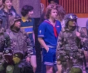 behind the scenes, steve harrington, and st3 image