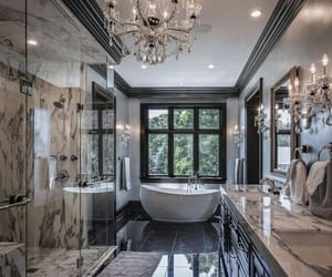 bathroom, home, and luxury image