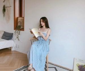 beauty, korean girl, and model image