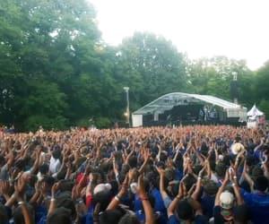 Bleu, crowd, and public image