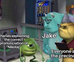 comedy, memes, and monsters inc image