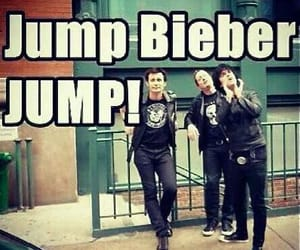 green day, justin bieber, and jump image