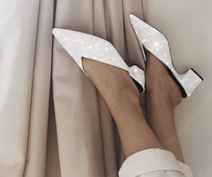 aesthetic, beige, and flats image