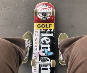butterfly, golf, and skate image