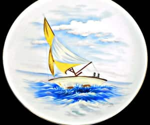 decorative, seascape, and vintage image