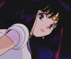 anime, aesthetic, and sailor saturn image