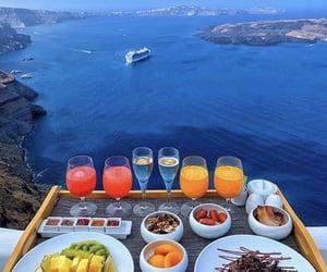 Greece, breakfast, and sea image
