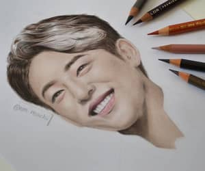 art, idol, and korean image