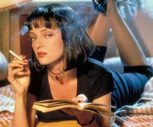 90's, iconic, and pulp fiction image
